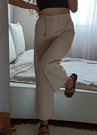 Düz kesim retro pantolon