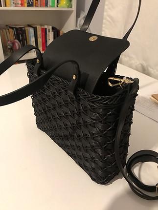 diğer Beden Zara hasır çanta