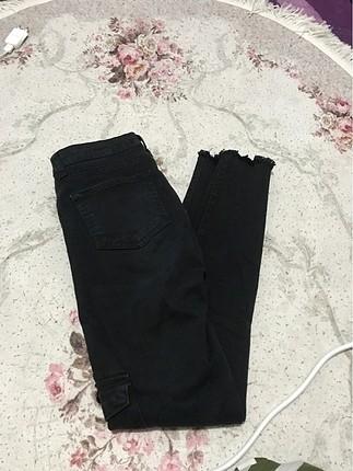 Siyah kargo pantolon