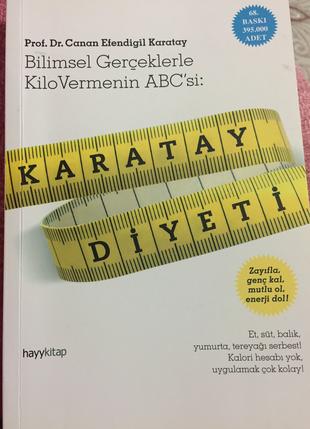 Canan Karatay ın meşhur Karatay diyeti adlı eseri