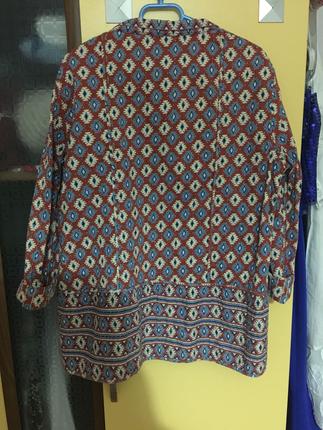Mango M beden hafif uzun ceket