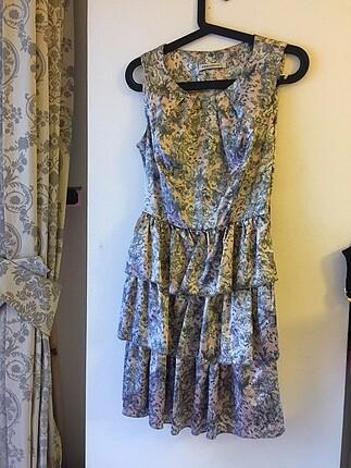 Saten elbise
