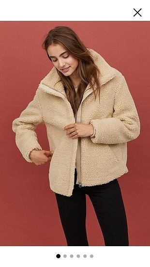 H&M Tüylü ceket