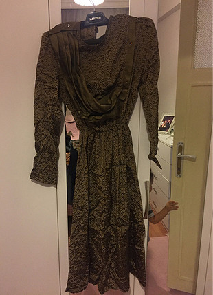 Eski model elbise