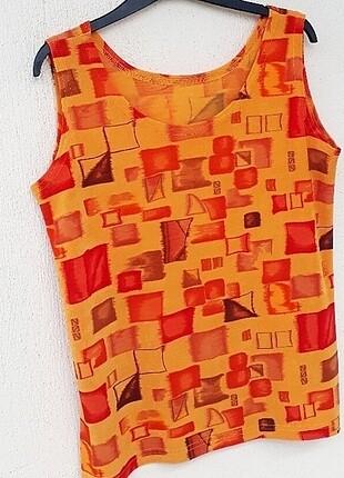 Vintage Love Vintage Mikro Desenli Bluz