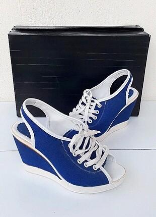 U.S Polo Assn. Polo Clup Orjinal Spor Dolgu Topuk Ayakkabı