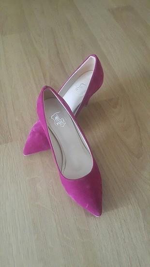 fuşya ayakkabı