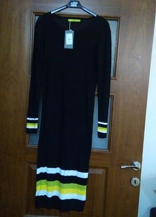 Triko uzun elbise