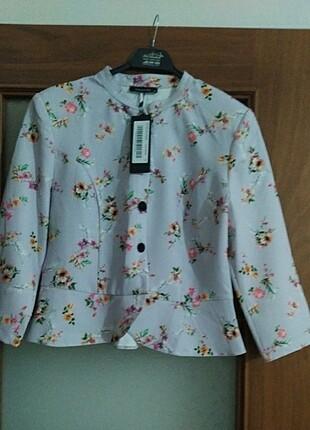 Trendyol & Milla Trendyol Milla lila desenli ceket