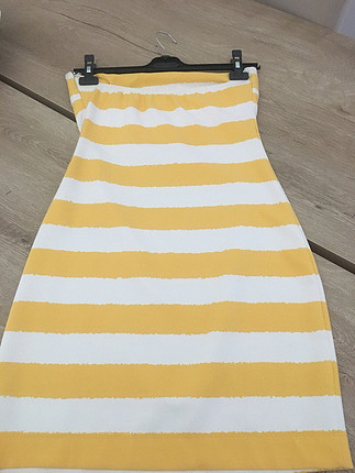 s Beden sarı Renk Polo Garage Elbise