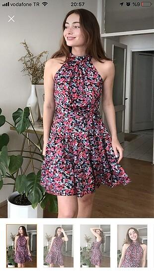 Milla çiçekli elbise