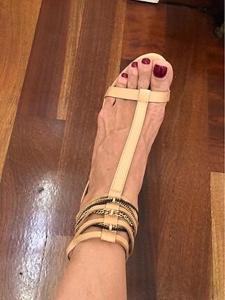 Zara topuklu sandalet