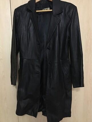 Uzun Deri Ceket