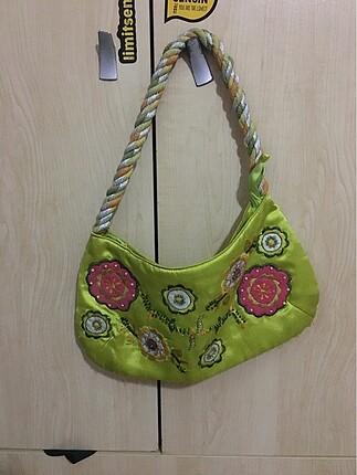 Fıstık Yeşili Çanta