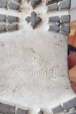 35 Beden lacivert Renk Stradivarius sandalet
