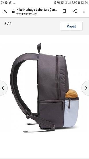 Beden gri Renk nike sırt çantası