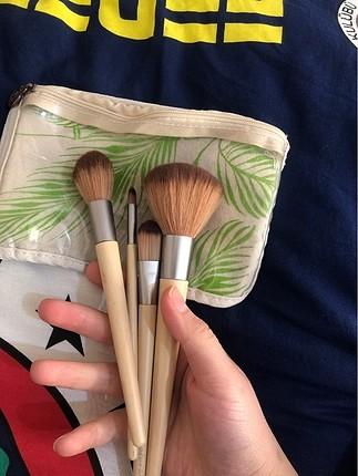 natural love makyaj fırça seti