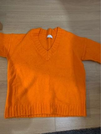 Zara kazak turuncu