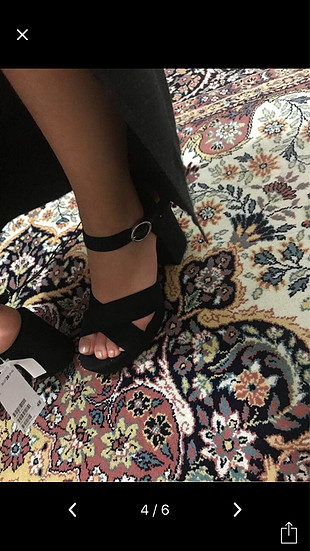 H&M platformlu sandalet