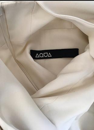 s Beden Beyaz Şık Elbise