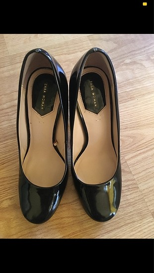 Zara marka şeffaf topuklu ayakkabı ????