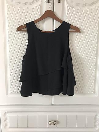 Siyah Asos bluz