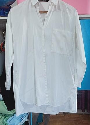Zara oversize gömlek