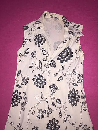 Zara Çiçek desenli elbise
