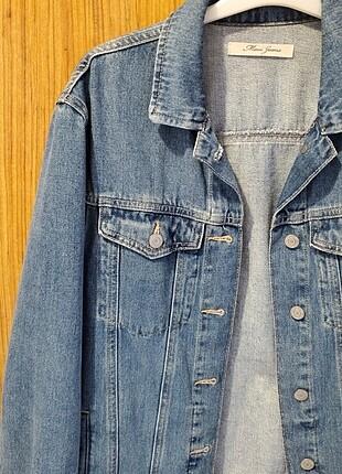 Mavi kot ceket
