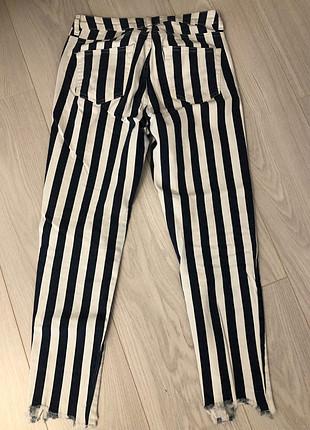 ADL Beyaz çizgili pantolon