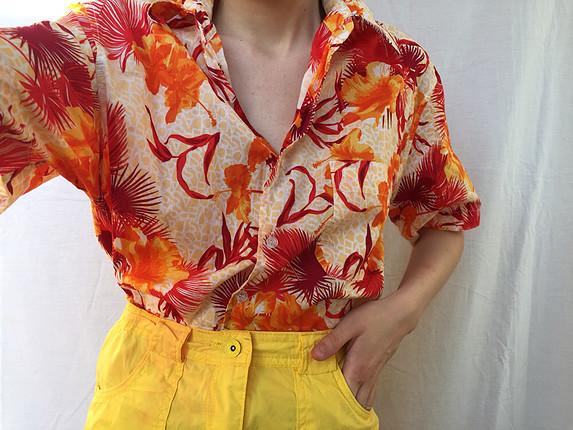 universal Beden Vintage gömlek