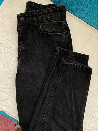 siyah mom jean