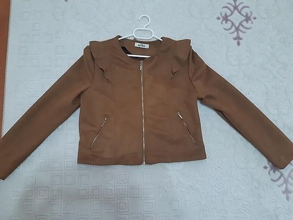 nubuk kisa ceket