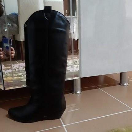 37 Beden siyah Renk pelinin ayakkabıları