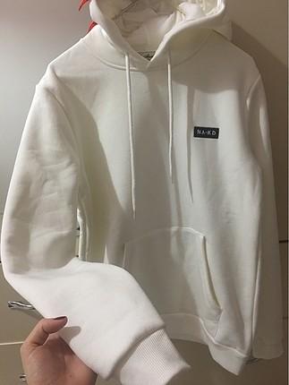 Yumuşacık kapişonlu sweatshirt