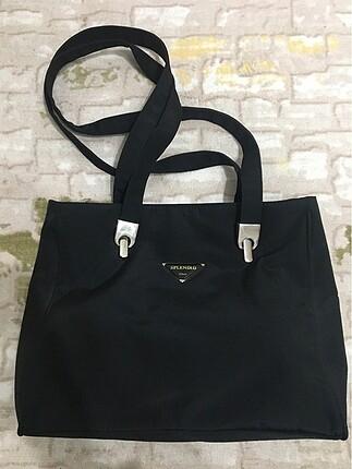 Splendid italy marka siyah çanta