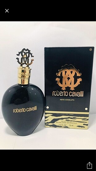 Roberto Cavalli orijinal tester parfümler