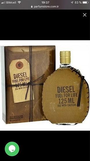 Diesel orijinal tester parfüm