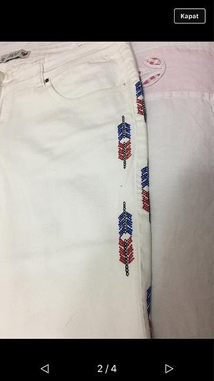 Beyaz Pantalon