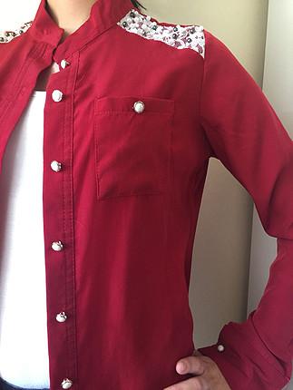 Zara Kırmızı gömlek