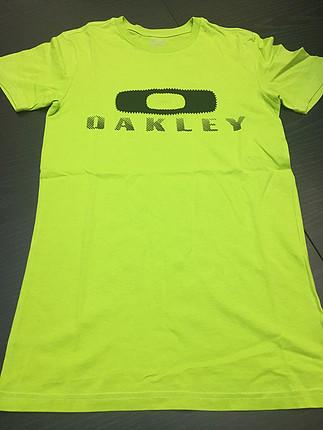 Oakley marka tshirt petite small beden.neon yeşili.muhteşemm ren