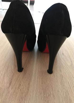 36 Beden siyah Renk Topuklu Ayakkabı