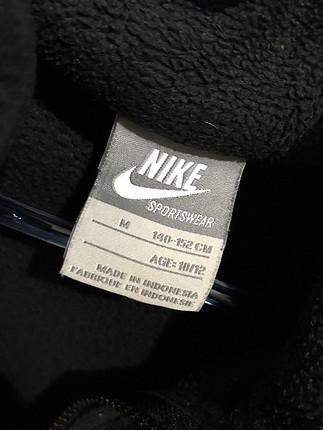 s Beden Nike siyah polar