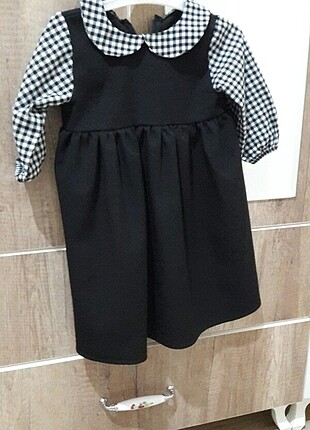 Anne bebek kombin elbise.