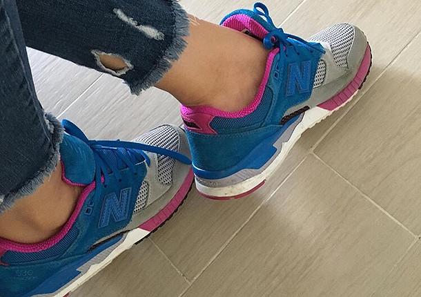 Çok az kullanılmış spor ayakkabı