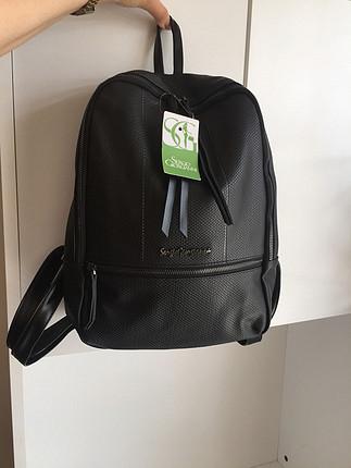 Sıfır sırt çantası siftah