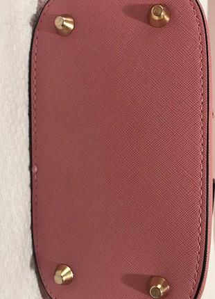 diğer Beden pembe Renk Zara pembe askılı çanta