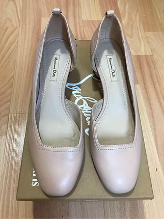 37 Beden Massimo Dutti topuklu ayakkabı