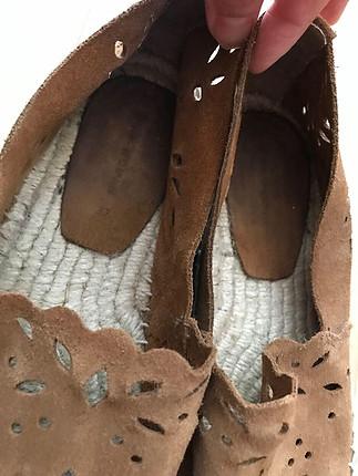 38 Beden kahve Renk Espadril ayakkabı