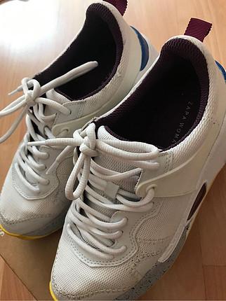 37 Beden Zara trend spor ayakkabı